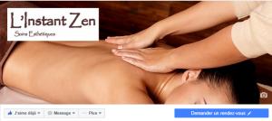 Page Facebook de L'Instant Zen